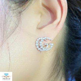 ต่างหู รุ่น GUCCI Diamond Earring