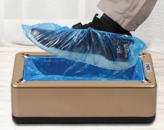 เครื่องสวมถุงคลุมรองเท้าอัตโนมัติ