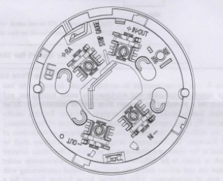 SYSTEM SENSOR B801RA Plug-in Detector Base
