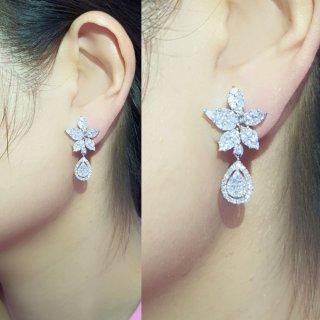 ต่างหู Floral Earring