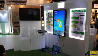 ให้เช่า LED Multi Touch Screen