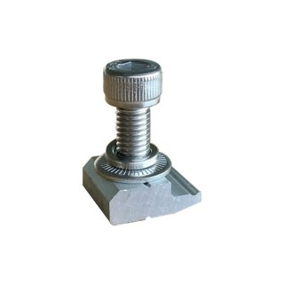 Nut with bolt for hook