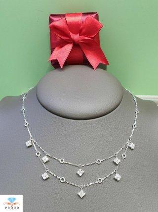 สร้อยคอเพชร Lovely Twin Necklace