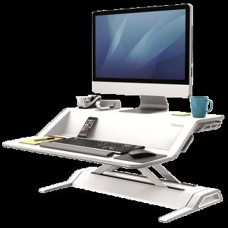 โต๊ะวางคอมพิวเตอร์ Fellowes รุ่น Lotus™ Sit Stand