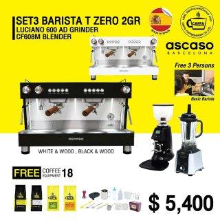 Set 3 BARISTA T ZERO 2 GR