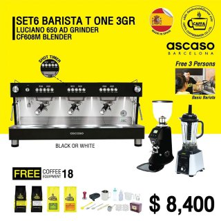 Set 6 BARISTA T ONE 3 GR