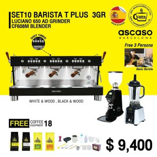 Set 10 BARISTA T PLUS 3 GR