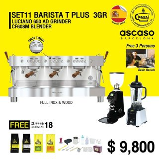 Set 11 BARISTA T PLUS 3 GR
