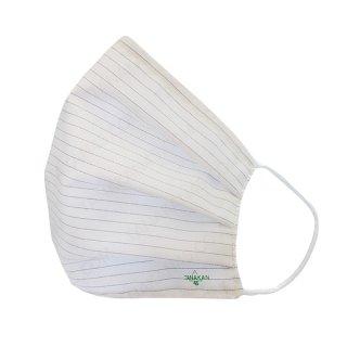 หน้ากากผ้ากันน้ำสำหรับผู้ใหญ่ สีขาว ขนาด 7×20 cm