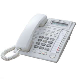 โทรศัพท์อนาล็อกคีย์แบบมีจอ รุ่น KX-T7665X