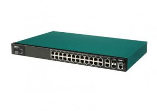 PoE switch, Switch-M24eGLPWR+ รุ่น PN28248-TH
