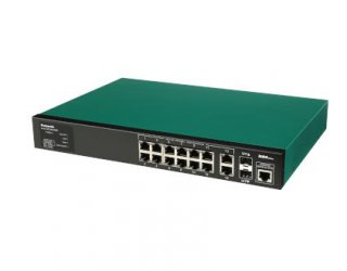PoE switch, Switch-M12eGLPWR รุ่น PN28128-TH