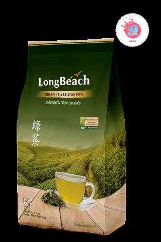 ลองบีชชาใบ ชาเขียว