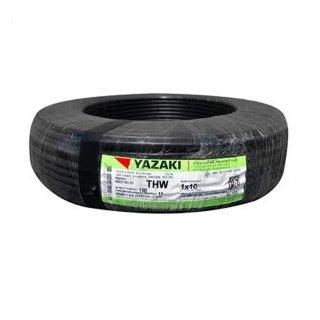 สายไฟ THW 10 sq.mm สีดำ