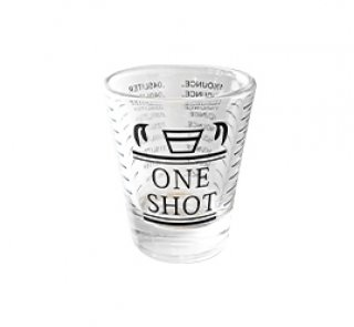แก้วช็อต 45 One Shot ดำ