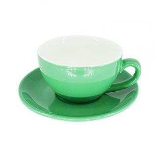 ชุดแก้วเซรามิค Capuccino Luciano 10 oz สีเขียว