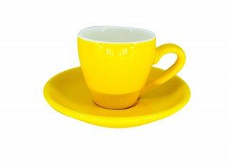 ชุดแก้วเซรามิค Espresso Luciano 2 oz สีเหลือง