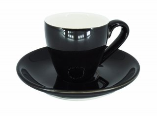 ชุดแก้วเซรามิค Espresso Luciano 2 oz สีดำ