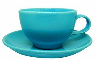 ชุดแก้วเซรามิค 7 oz สีฟ้า