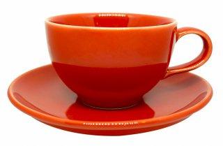 ชุดแก้วเซรามิค 7 oz สีแดง