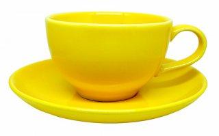 ชุดแก้วเซรามิค 7 oz สีเหลือง