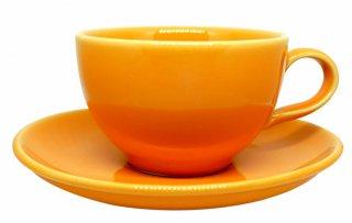 ชุดแก้วเซรามิค 7 oz สีส้ม