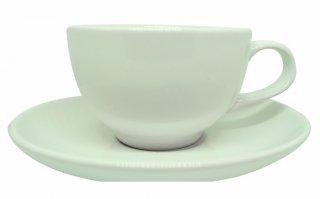 ชุดแก้วเซรามิค Capuccino Luciano 8 oz สีขาว