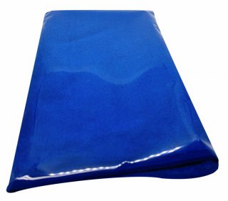 ผ้าไมโครไฟเบอร์ สีน้ำเงิน