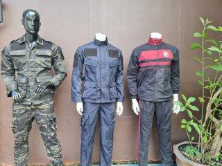 ชุดฝึกทหาร-ตำรวจ