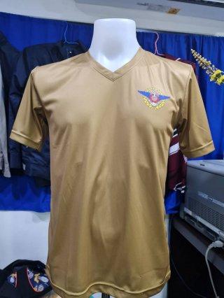 เสื้อยืดคอวี กองบัญชาการกองทัพไทย