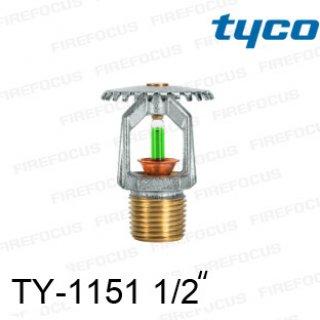 สปริงเกอร์แบบอัพไรท์สีเขียว TY-B 200F