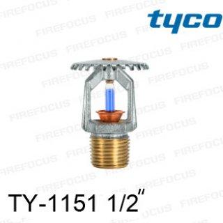 สปริงเกอร์แบบอัพไรท์สีน้ำเงิน TY-B 286F