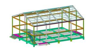 รับออกแบบโครงสร้างร้านอาหาร