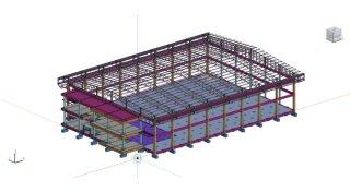 รับออกแบบโครงสร้างโรงงาน