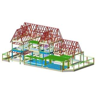 บริการออกแบบโครงสร้างบ้านสไตล์ รีสอร์ท
