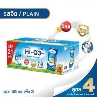 (แพ็ค) ไฮคิว3+ยูเอชทีจืด 180มล.P21
