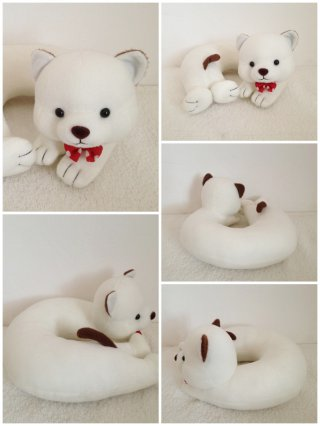 หมอนรองคอตุ๊กตาน่ารัก