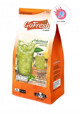 ลองบีชโกเฟลช ชาเขียวมัทฉะมะลิ