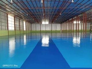 สีพื้นห้องคลีนรูม Cleanroom