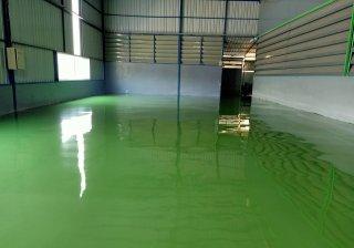 สีพื้นโรงงานทำขนม
