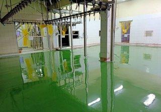 สีพื้นโรงงานเครื่องดื่ม