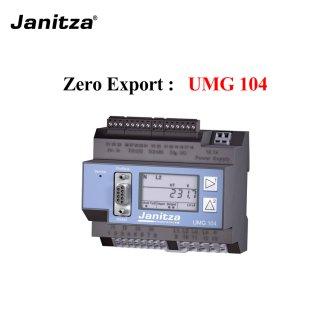 Zero Export Digital Meter Janitza UMG104
