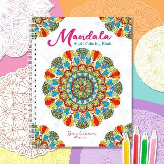 สมุดระบายสี Mandala Art Book Vol.1 (เล็ก)