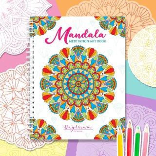 สมุดระบายสี Mandala Art Book Vol.1 (ใหญ่)