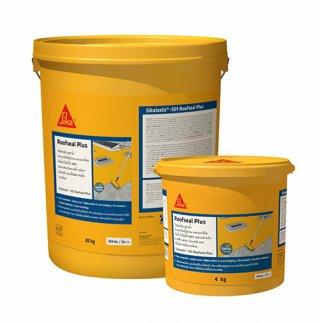 Sikalastic -501 Roofseal Plus (ซิก้าลาสติก-501 รูฟซิล พลัส) วัสดุกันซึมสำหรับหลังคา ดาดฟ้า ชนิดอะคริลิคเคลือบสูตรน้ำ