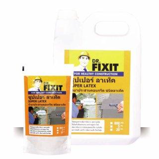 น้ำยาประสานคอนกรีต ระหว่างปูนเก่า-ปูนใหม่ Dr.Fixit Super Latex
