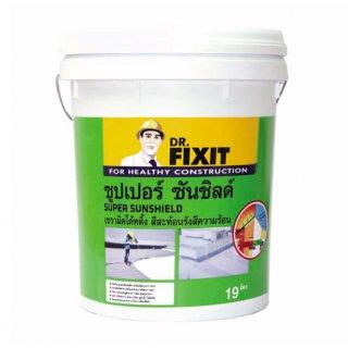 เซรามิคโค้ทติ้งสะท้อนรังสีความร้อนสูตรน้ำ Dr.Fixit Super Sunshield