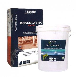 ซีเมนต์กันซึมแบบสองส่วนผสม ปกปิดรอยแตกร้าว BOSTIK BOSCOLASTIC
