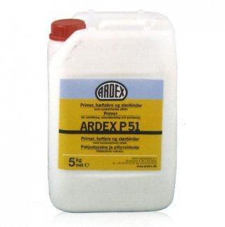 น้ำยารองพื้น และน้ำยาประสานเข้มข้น สูตรน้ำ สำหรับพื้นผิวดูดซับหรือมีรูพรูน ARDEX P 51