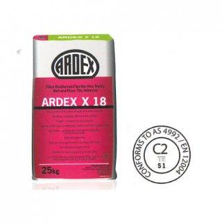 กาวซีเมนต์ผสมเส้นใยพิเศษ เสริมความยืดหยุ่น ไม่ยุบตัว ARDEX X 18